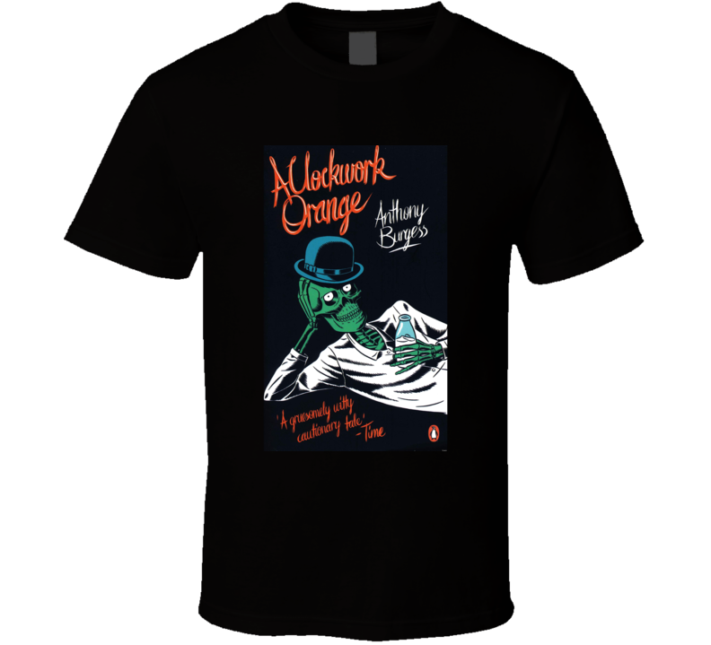 A Clockwork Orange Novel Black T Shirt