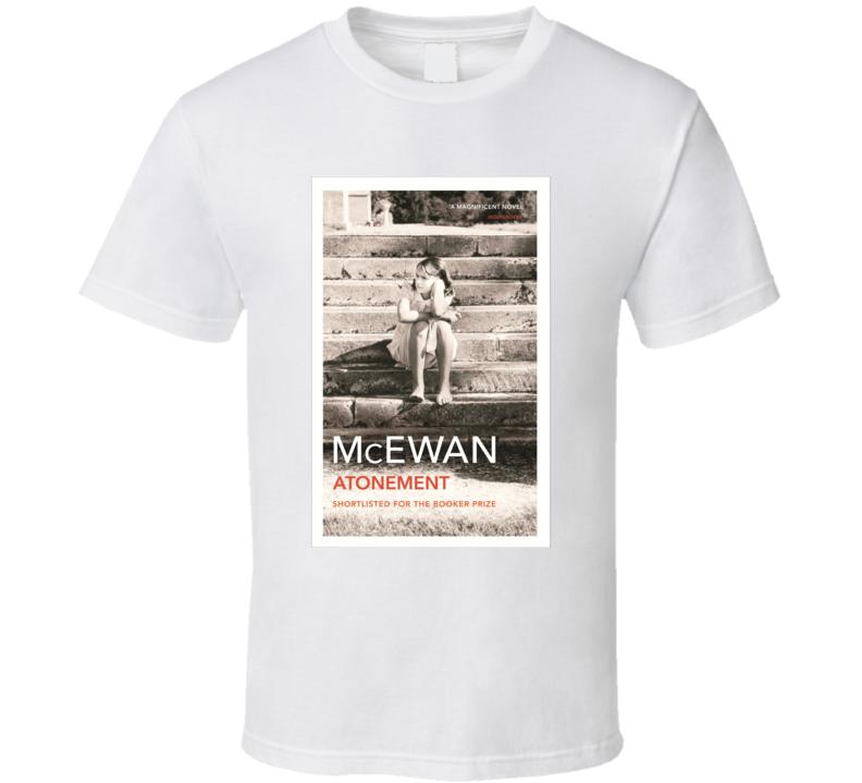 Atonement Ian Novel Cover T-shirt Mcewan