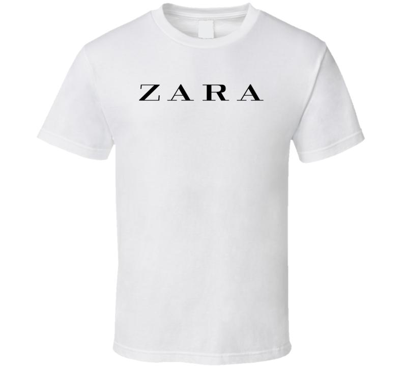 Zara  Logo T Shirt