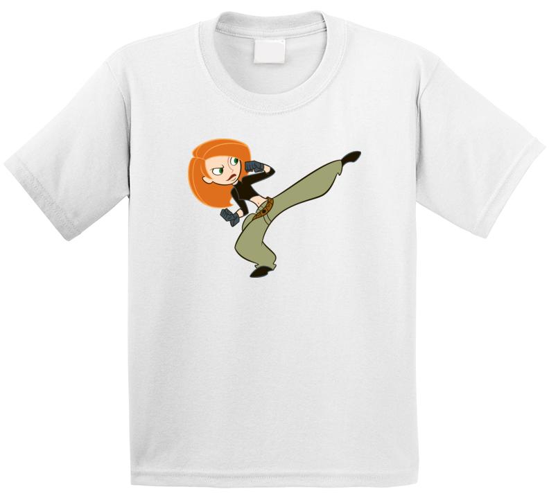 Kim Possible Kids T-shirt Tee
