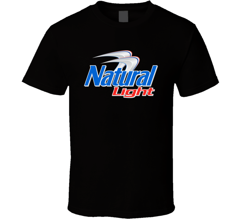 Natural Natty Light Beer T Shirt