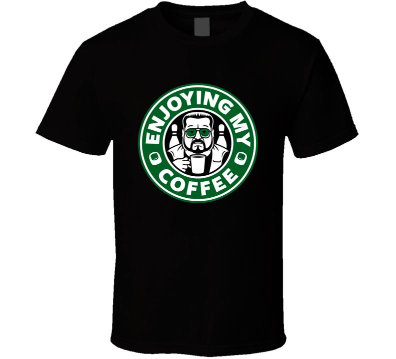 Enjoying Coffee Xmas Christmas T Shirt