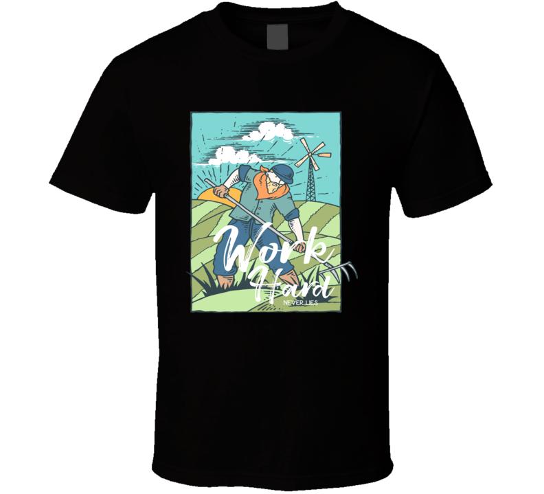 Work Hard New T-shirt