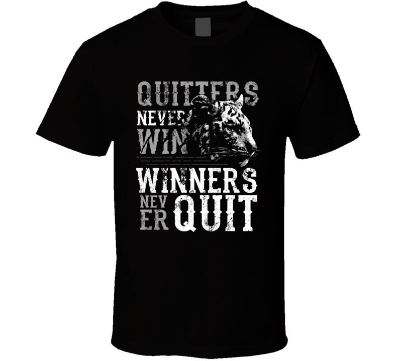 Tiger Quitter New T-shirt