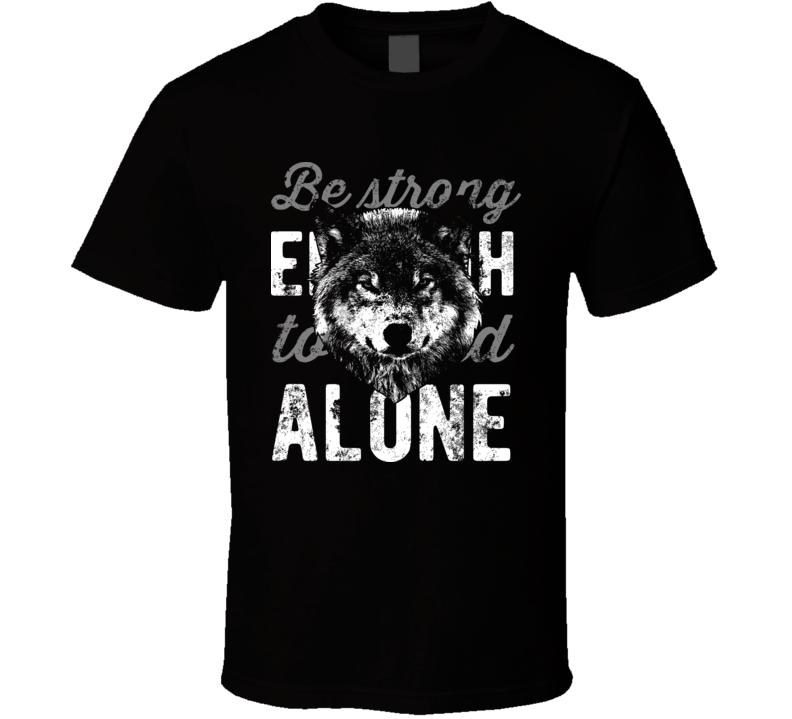 Wolf Alone New T-shirt