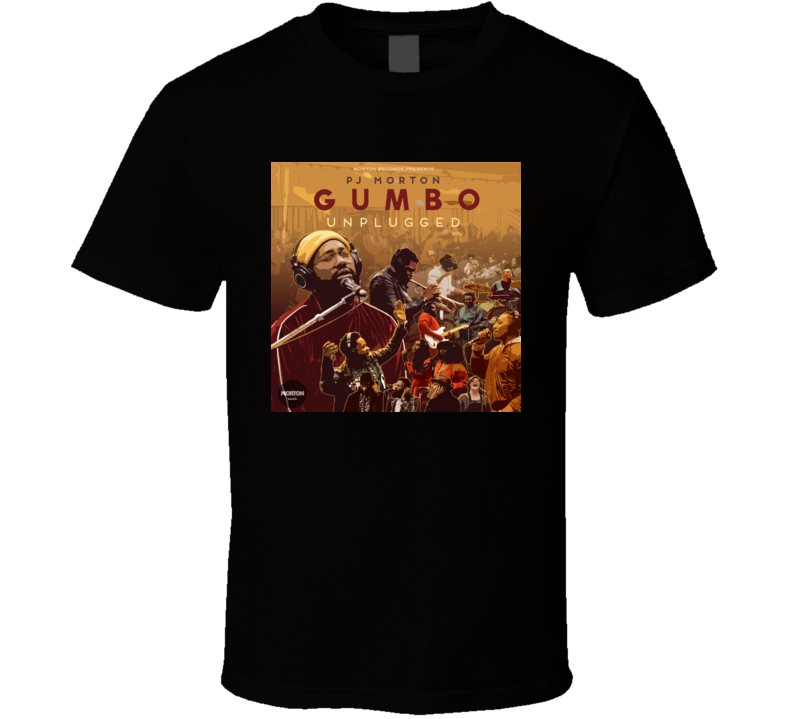 Gumbo Unplugged Pj Morton T Shirt
