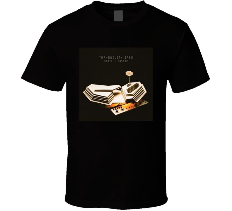 Tranquility Base Hotel Casino Arctic Monkeys T Shirt
