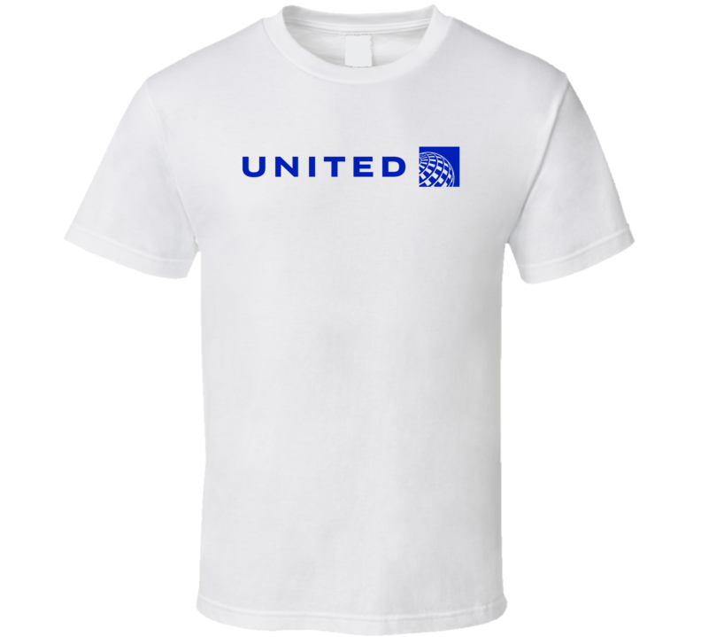 United Airlines Logo T Shirt