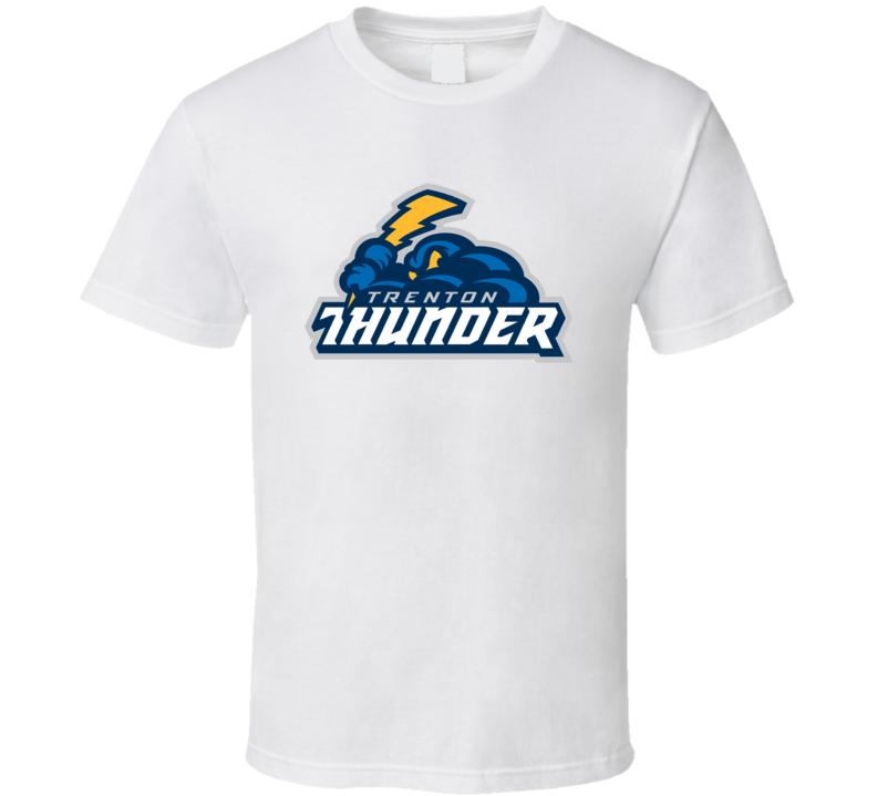 Trenton Thunder Logo T Shirt