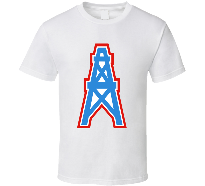 Houston Oilers Logo T Shirt