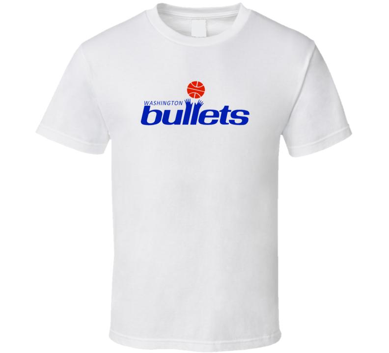 Washington Bullets Logo T Shirt