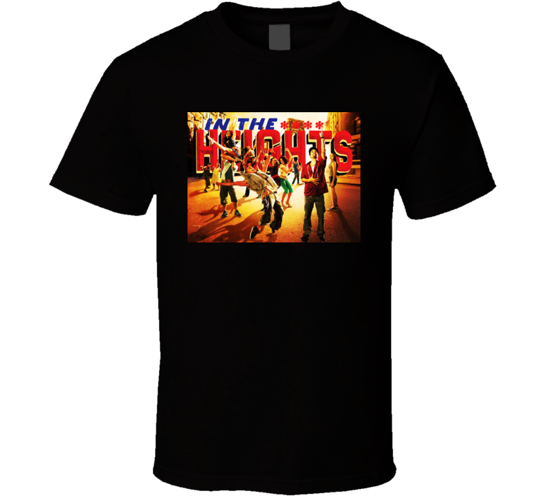 In The Heights Broadway Copy T Shirt