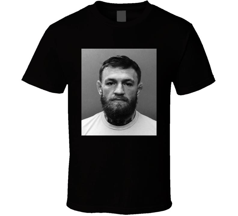 Connor Mcgregor Mugshot T Shirt
