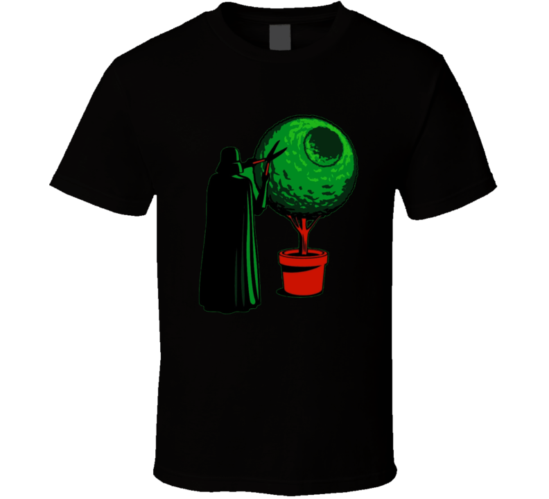 Funny Gardener Star Wars Bonsai Darth Vader Force Awakens T Shirt