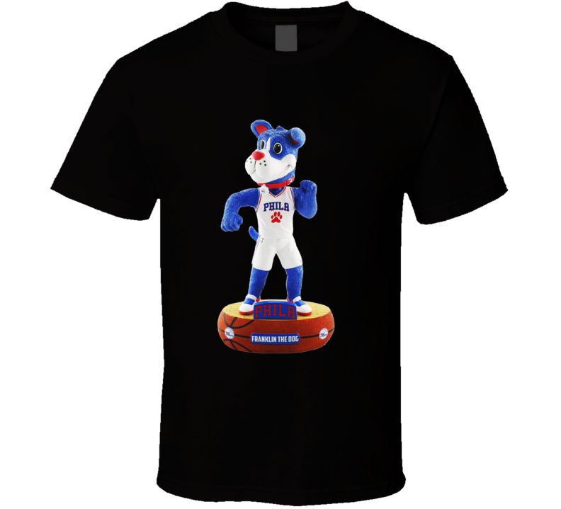 Franklin The Dog Sixers Mascot T Shirt