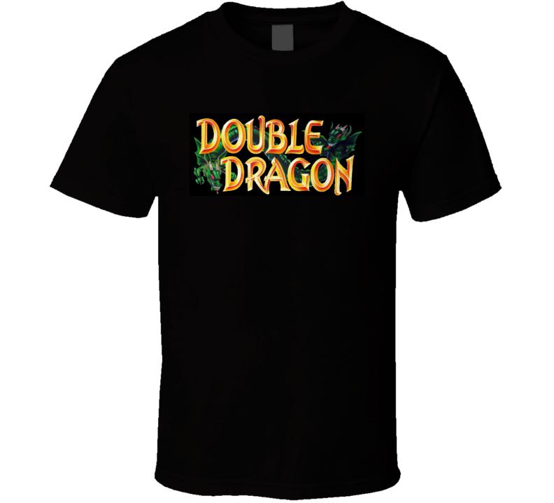 Double Dragon Logo T Shirt