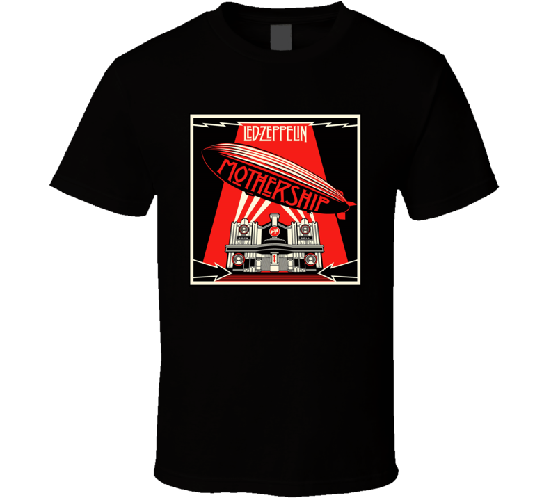 Led Zeppelin Mothership T Shirt