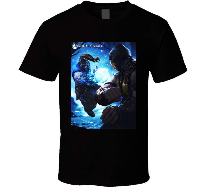 Mortal Kombat Sub-zero T Shirt