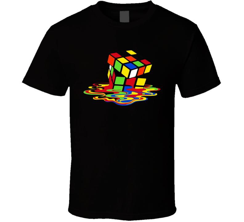 Sheldon Cooper Melting Rubik T Shirt
