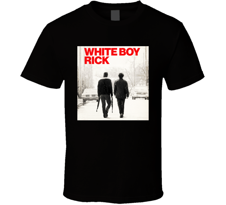 White Boy Rick Detroit Drug King Pin T Shirt