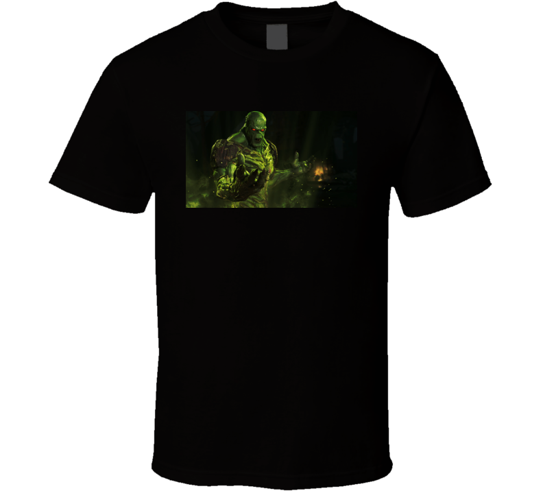 Swamp Thing Comic T Shirt