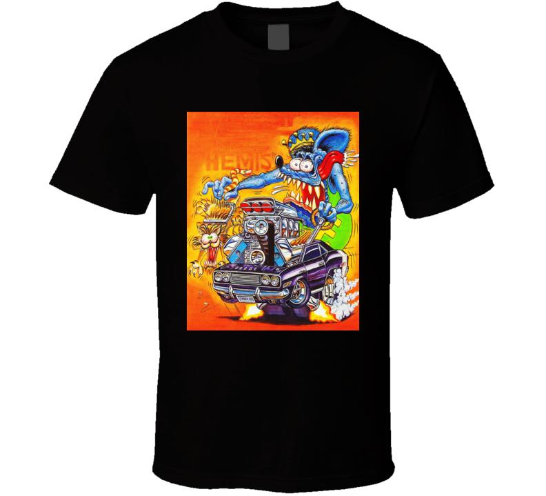 Tales Of Rat Fink T Shirt