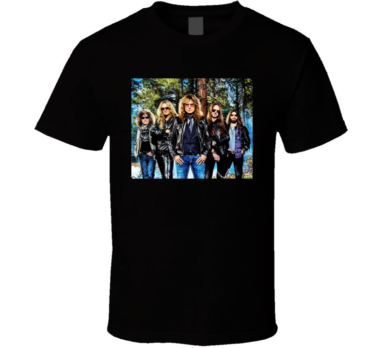 Whitesnake Rock T Shirt