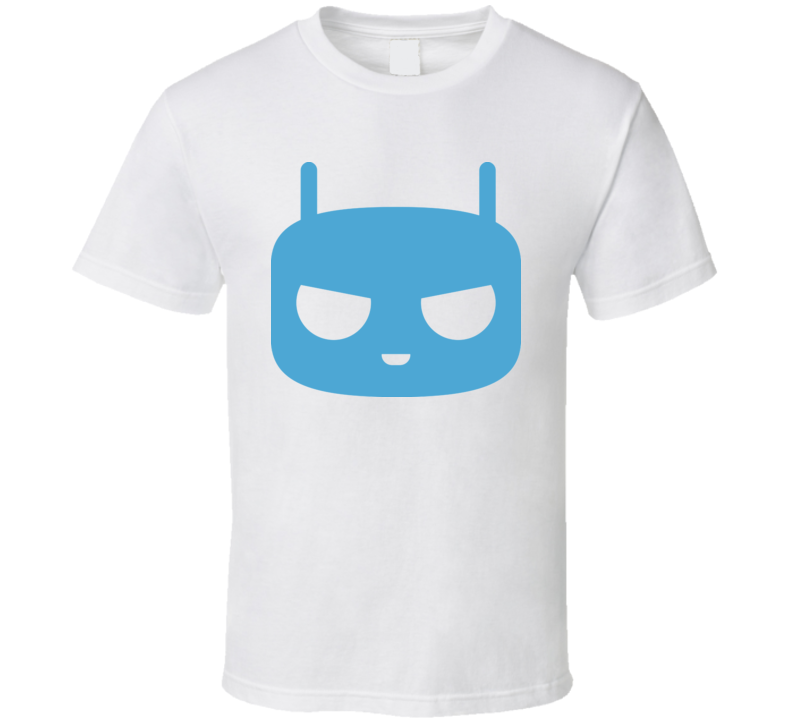 Cyanogenmod Cid Logo T Shirt