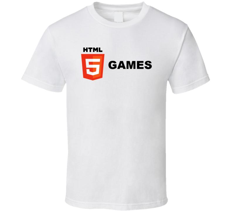Html5 Games T Shirt