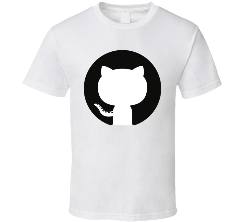 Github Logo T Shirt