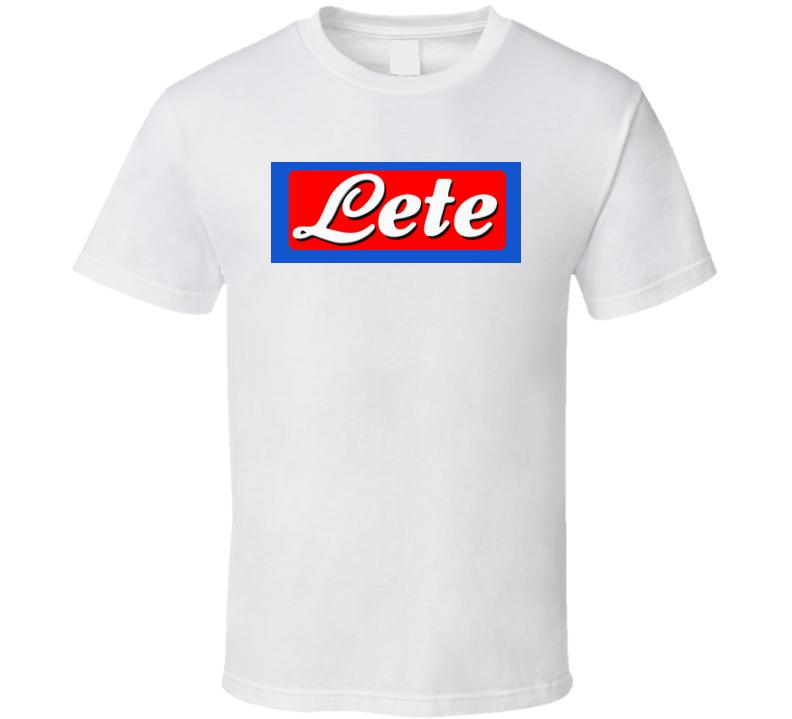 Lete Logo T Shirt