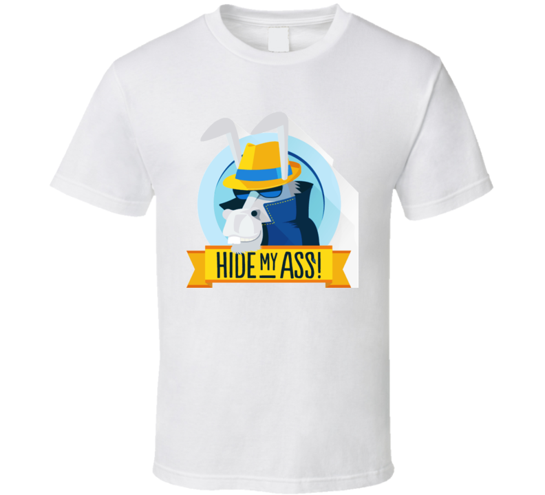 Hide My Ass Logo T Shirt