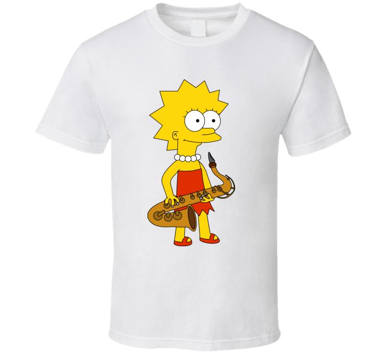 Lisa Simpson Cartoon T Shirt