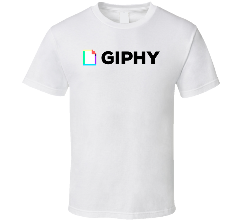 Giphy Logo T Shirt