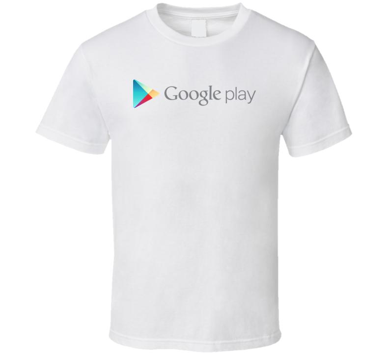 Google Play Logo T Shirt
