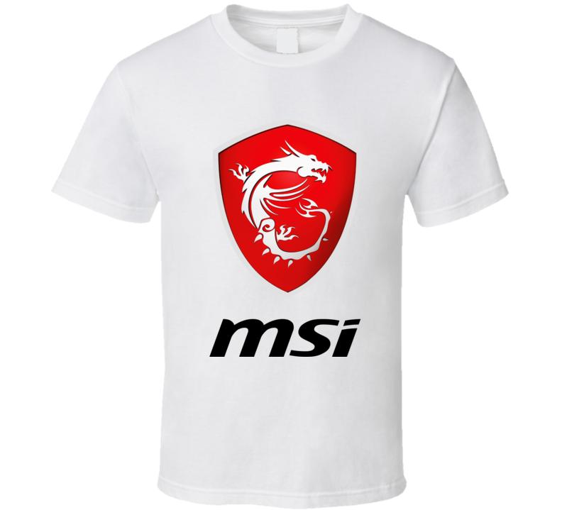 Msi Gaming Logo T Shirt