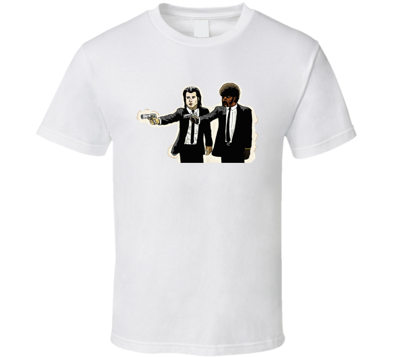 Pulp Fiction Vincent Vega Jules Winfield T Shirt