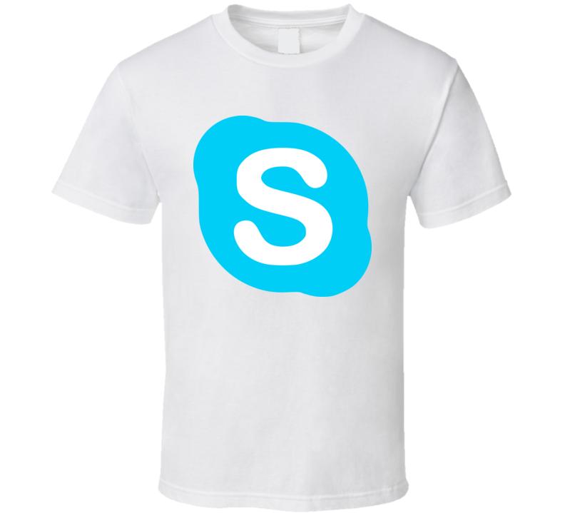 Skype Logo T Shirt