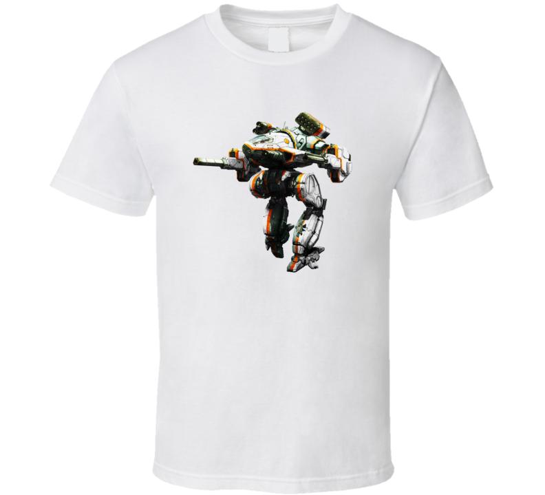 Mad Dog Mechwarrior T Shirt