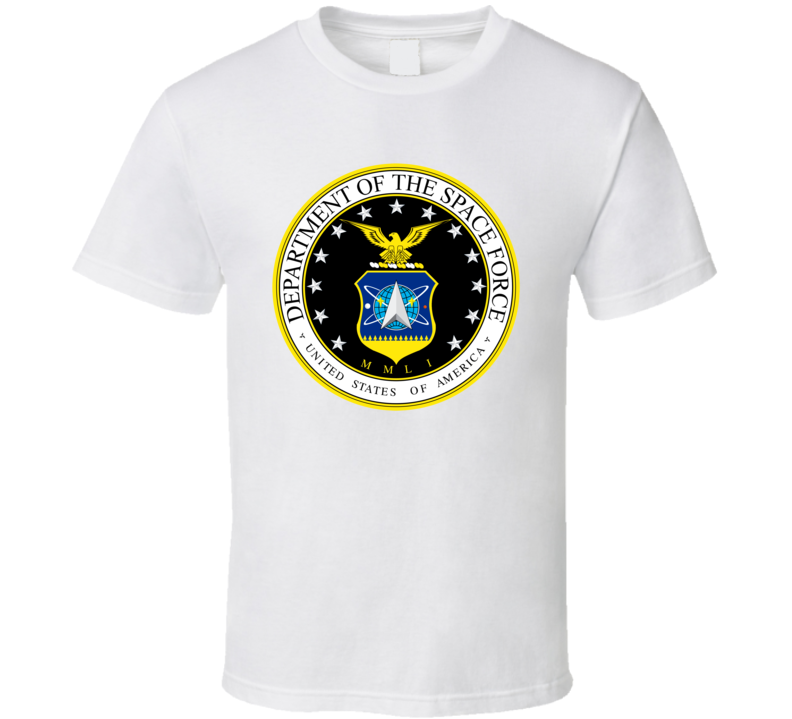 United States Space Command Logo T Shirt