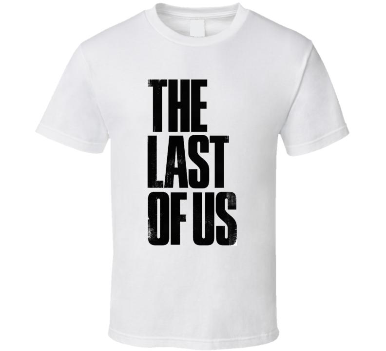 The Last Of Us Logo T Shirt