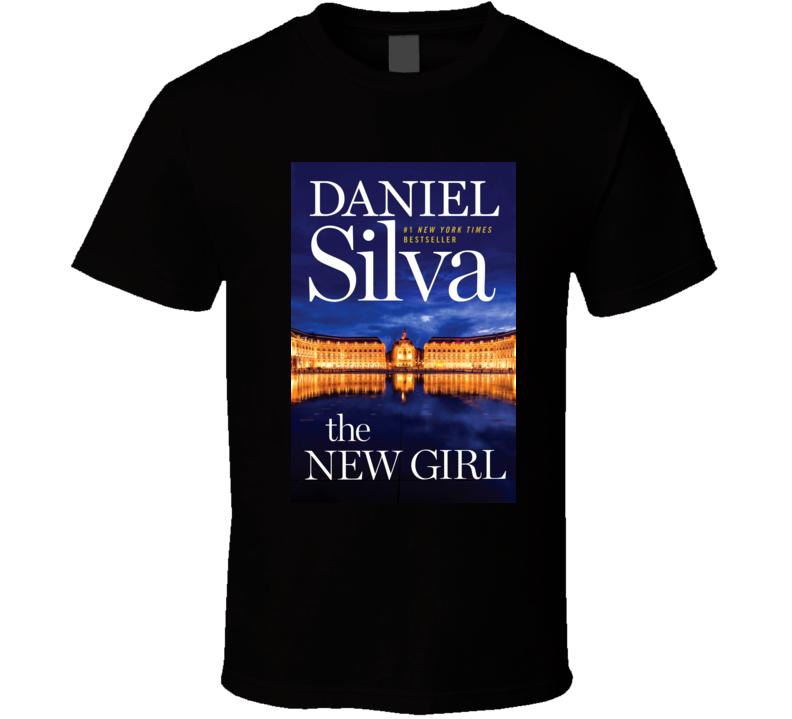 The New Girl By Daniel Silva Novel Book T Shirt