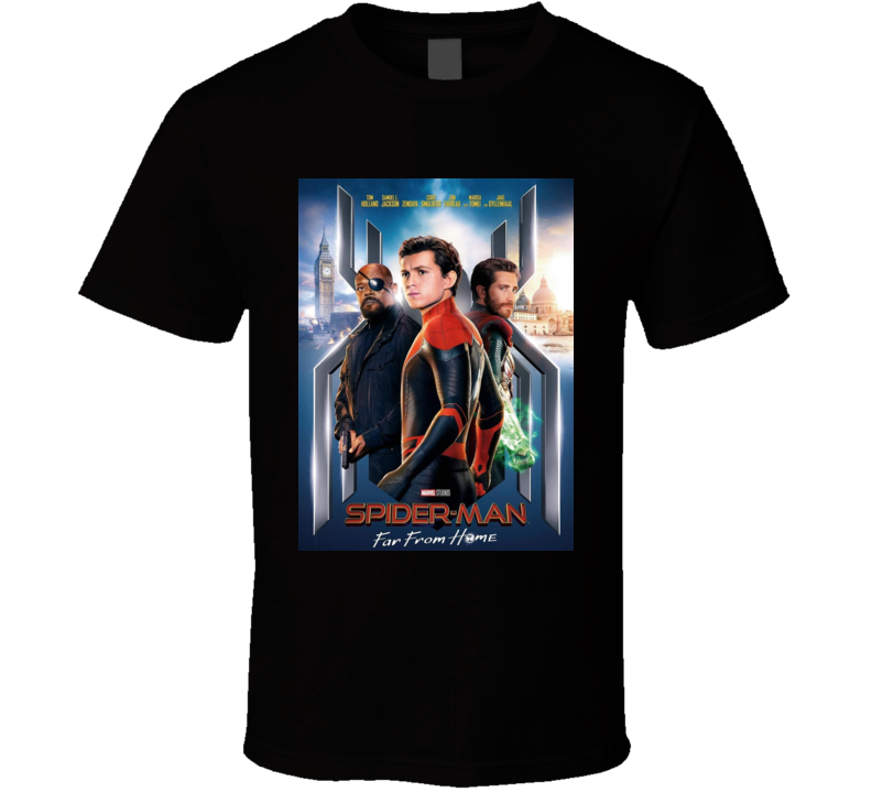 Spiderman Far From Home Fans Gift T Shirt