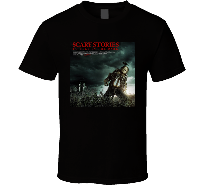 Scary Stories To Tell In The Dark Fans Gift T Shirt