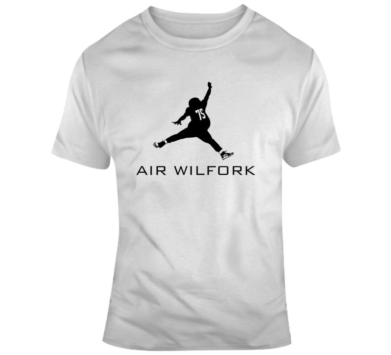 Air Wilfork White Tee T Shirt