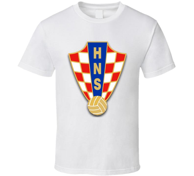 Croatian Football Federation Logo T Shirt