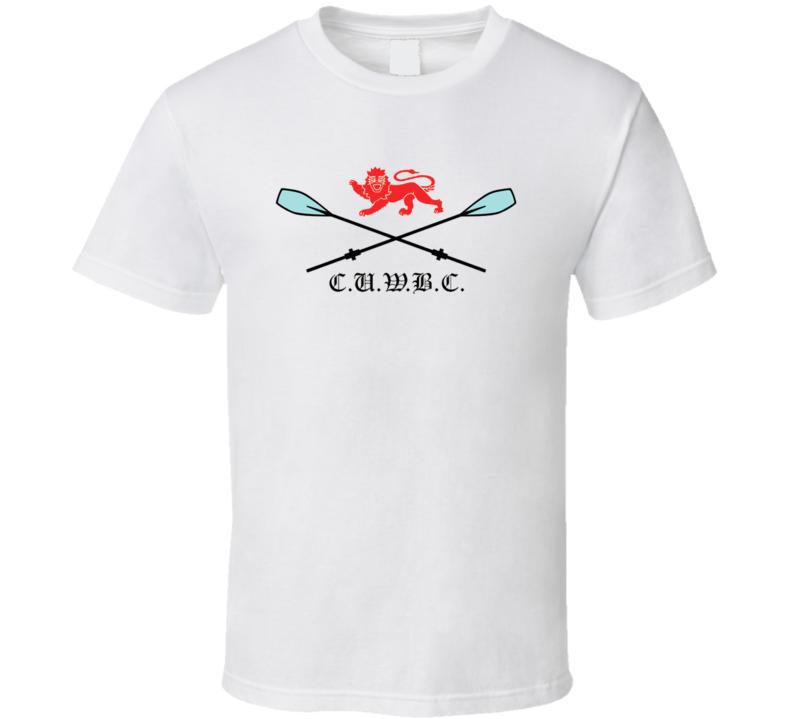 Cambridge University Women's Rowing Club  T Shirt