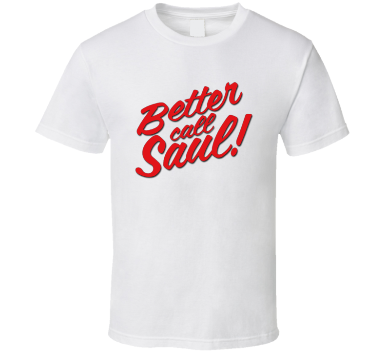 Better Call Saul Simple Logo T Shirt
