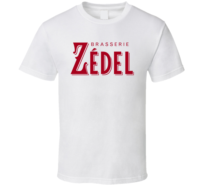 Brasserie Zedel Logo T Shirt