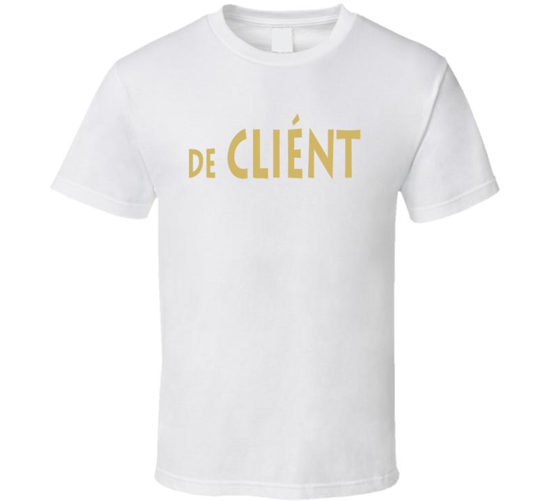 De Client Logo T Shirt